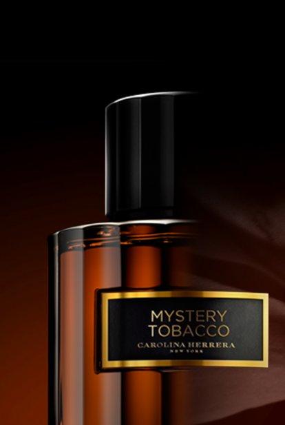 ab2476292 يرمز التبغ، الذي يُعد المكوّن الغامض في عطر Mystery Tobacco، لأصالة الفخامة  الحقيقية. لأنه مصمم ليتسامى، فدفئه وعبقه الكثيف يكشفان عن لباقة بيت Herrera.