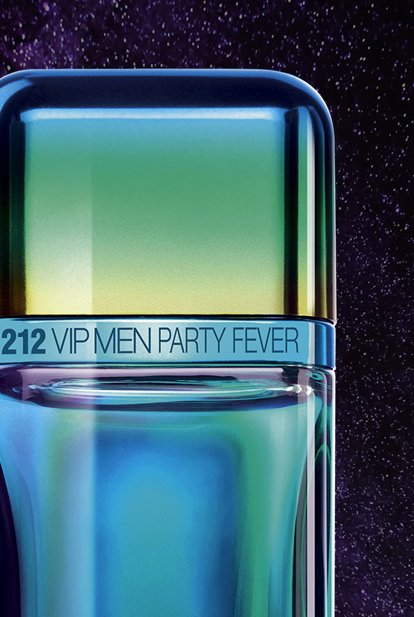 a6894087c Encapsulated in a new energetic limited edition, 212 VIP Men Party Fever, perfume  for men, is a vibrant scent that lifts the party to new limits.