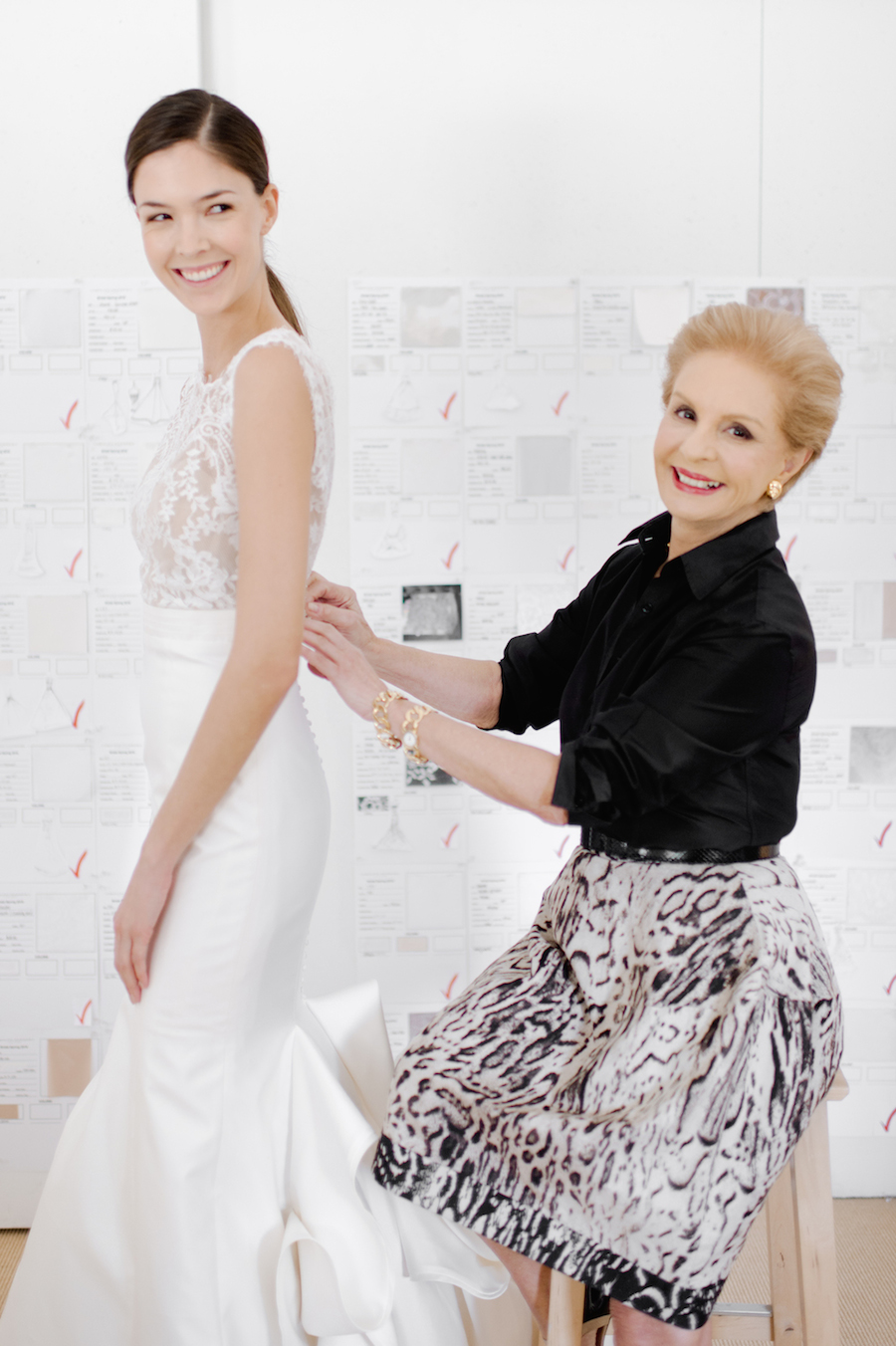 Style Me Pretty Carolina Herrera