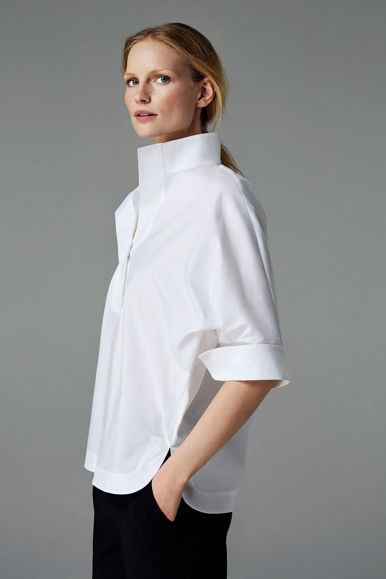 Look 97 carolina herrera for White shirt for ladies