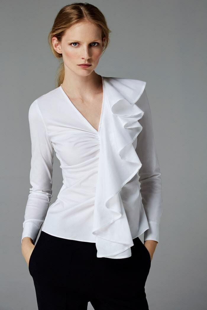 The white shirt fw 2016 carolina herrera for Carolina herrera white shirt collection