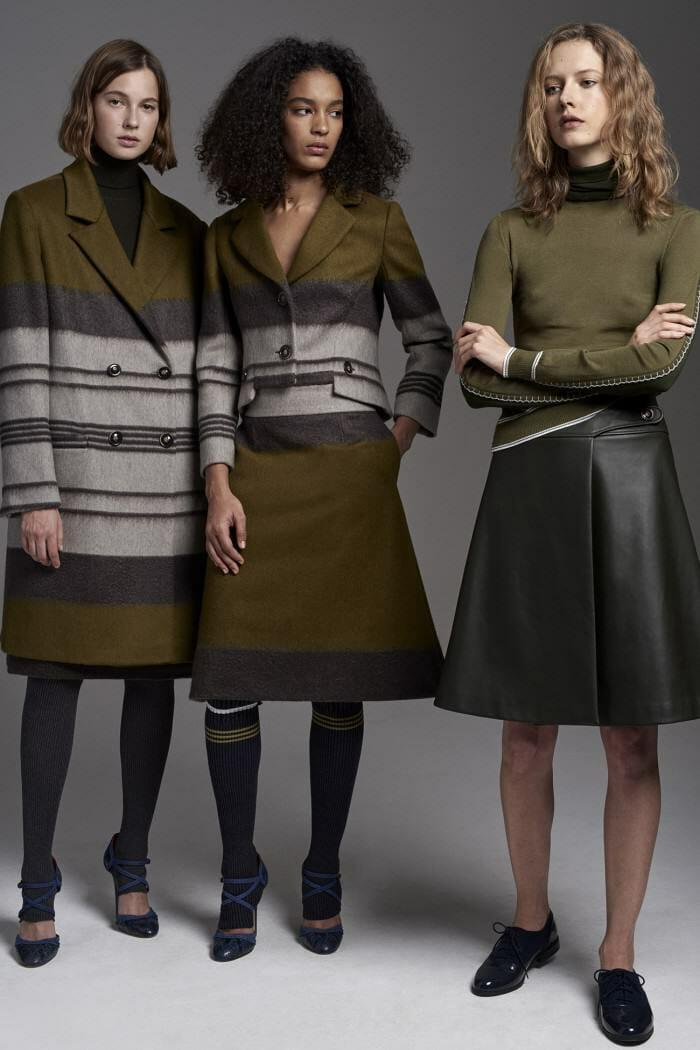 Carolina Herrera New York Pre Fall 2017 Look Models Wearing New Collection Jakets