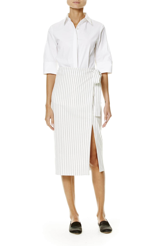 Look 12 carolina herrera for Carolina herrera white shirt collection