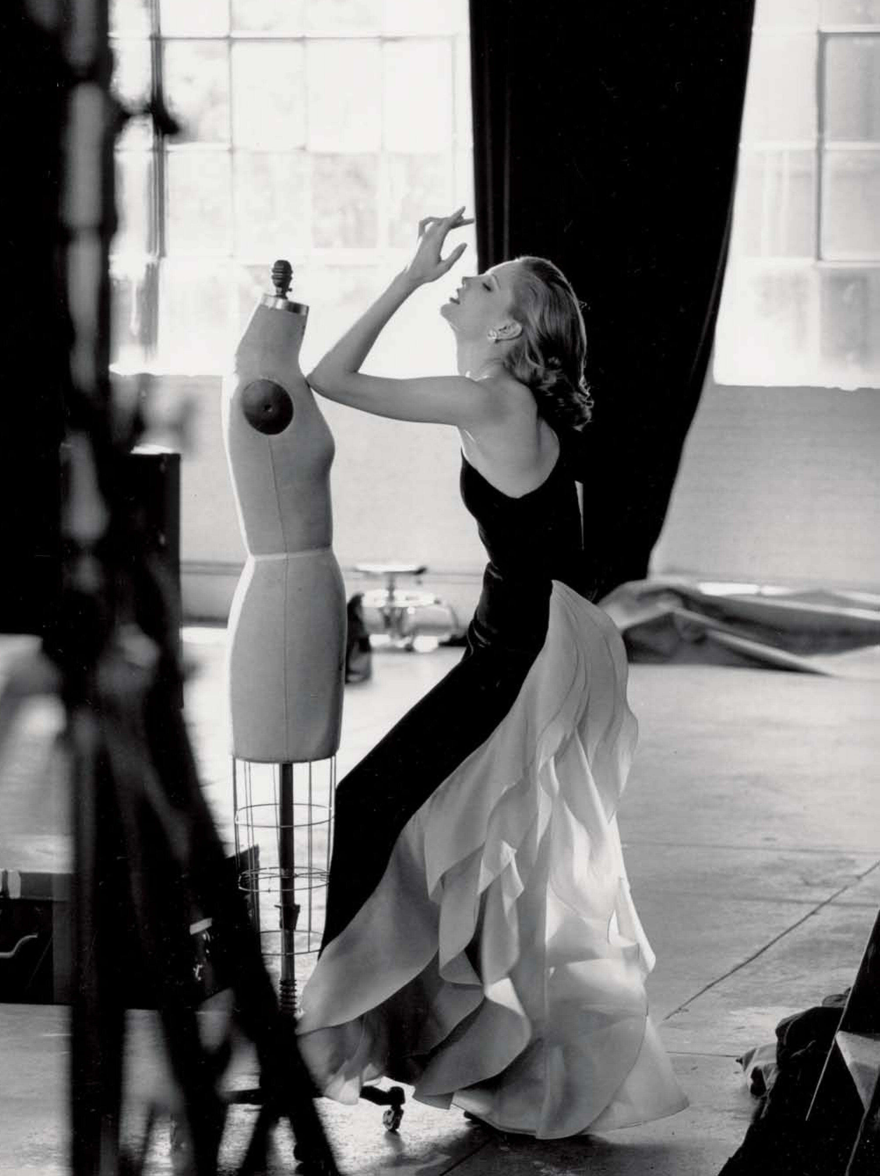 Atelier de Carolina Herrera New York Blanco y Negro