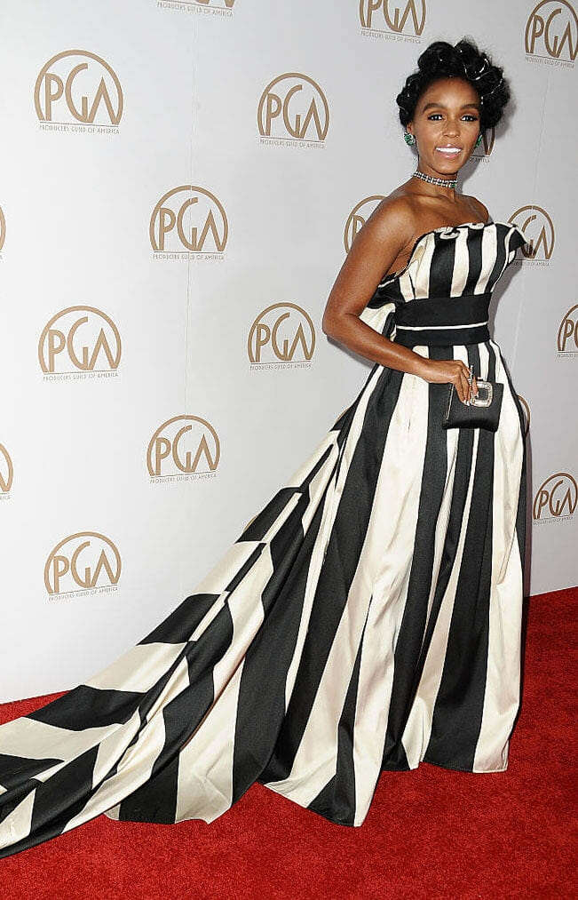 Janelle Monáe in Carolina Herrera