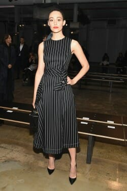 carolina herrera, emmy rossum, spring 17, fashion