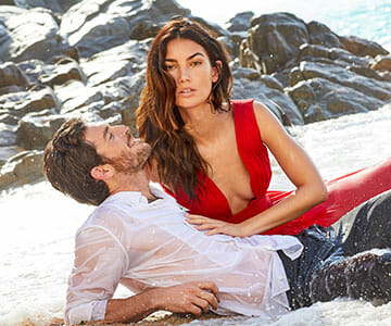 CH-Carolina-Herrera-Fragrance-Visual-With-Lily-Aldridge-And-Justice-Josline