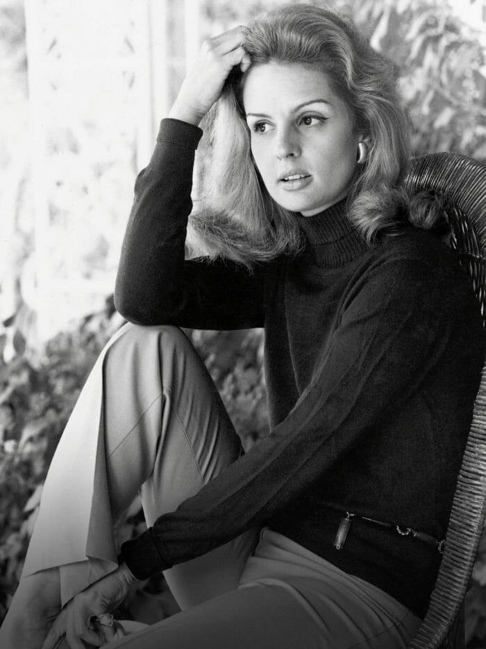 Carolina-Herrera-Black-And-White-Portrait