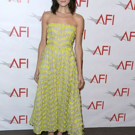 chny-fashion-Allison-Williams-wearing-carolina-herrera-dress