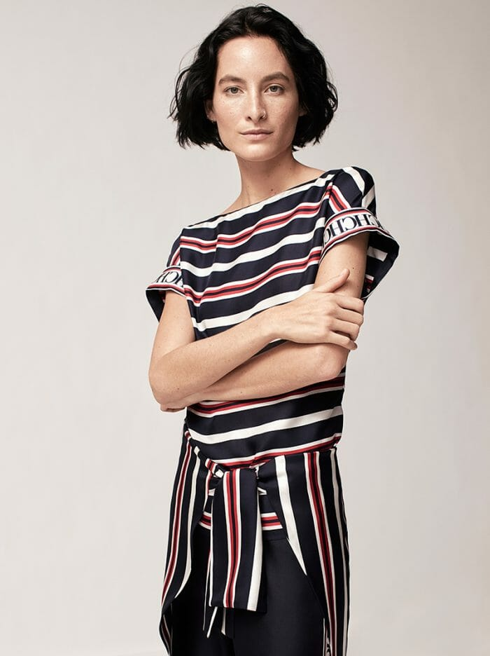 ch-carolina-herrera-fashion-womenswear-stripes-collection