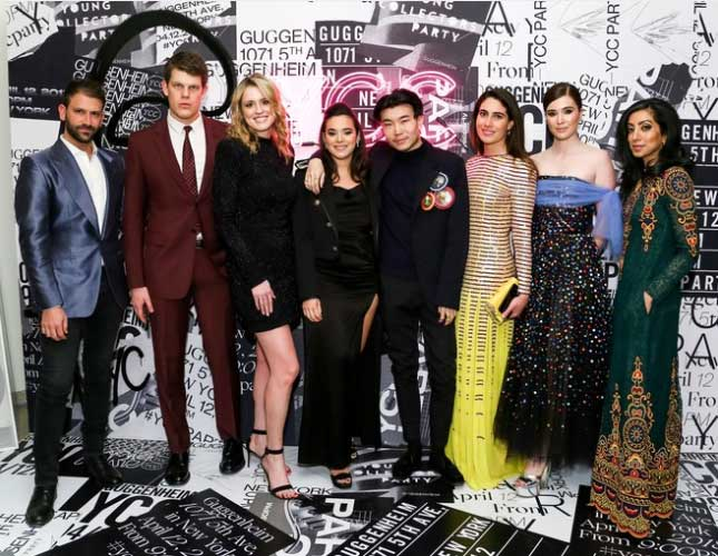 Carolina Herrera Sweeps the Spring Party Scene