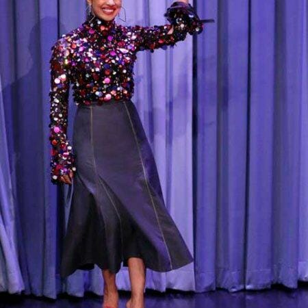 Priyanka Chopra Dazzles in Carolina Herrera Pre-Fall