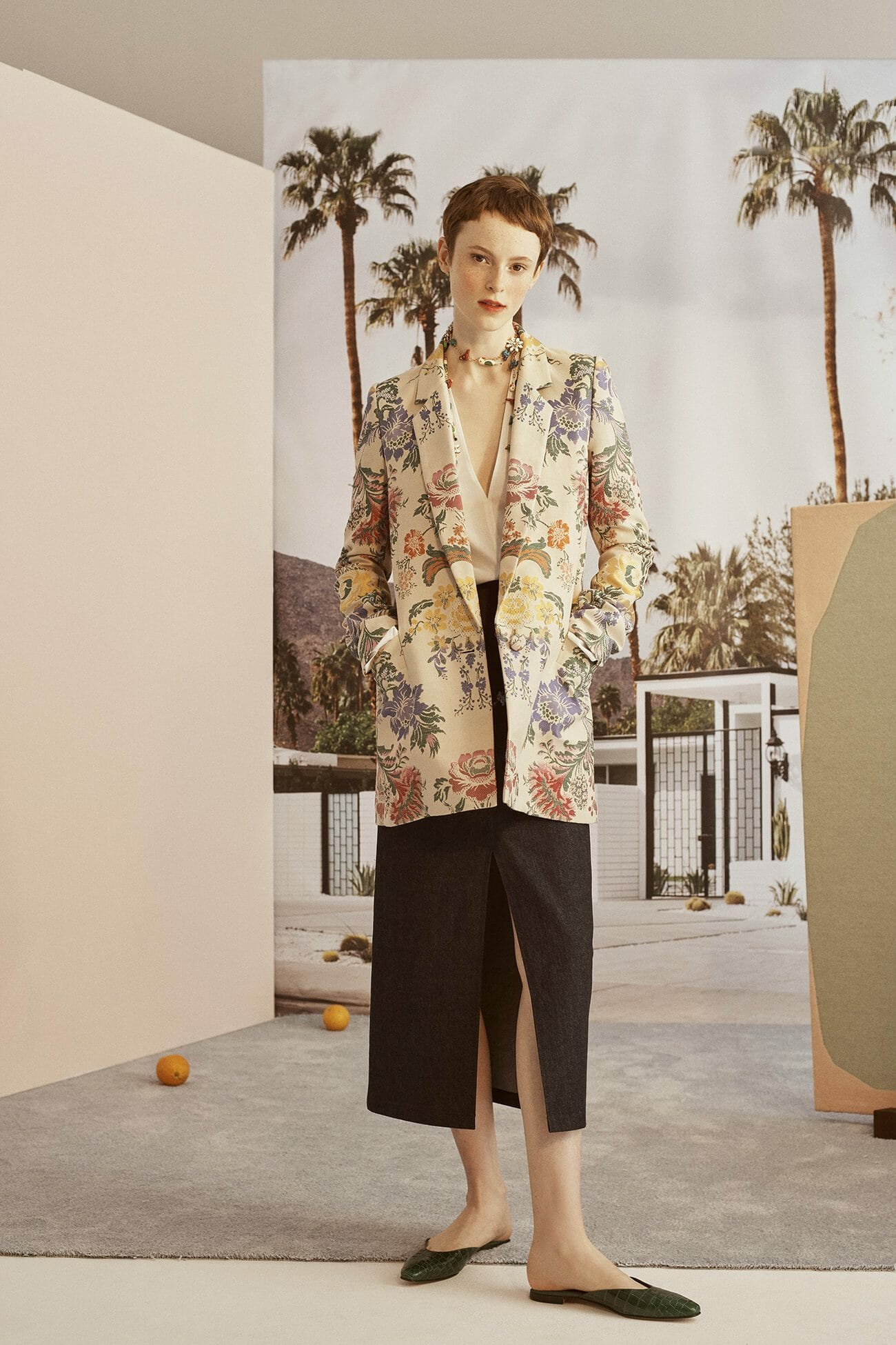 Carolina Herrera New York - Resort 2019 - Look 8