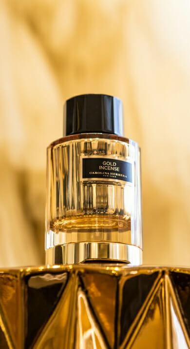 Gold incense | Carolina Herrera
