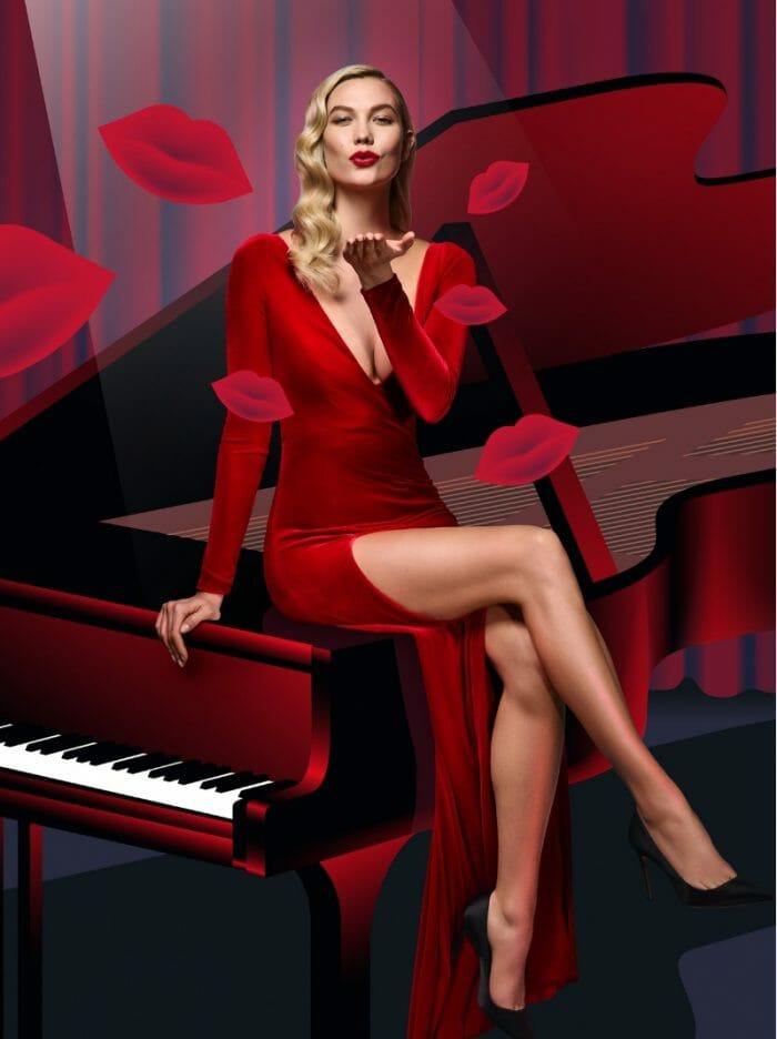 carolina-herrera-karlie-kloss-red-velvet-fatale-collector-dress