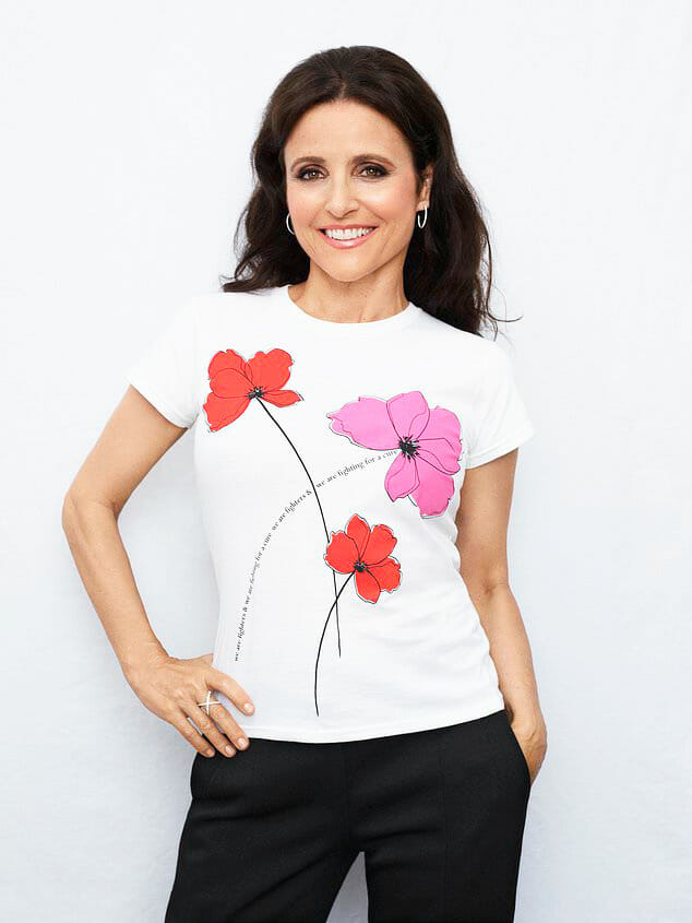 Julia Louis-Dreyfus partners for Key to the Cure