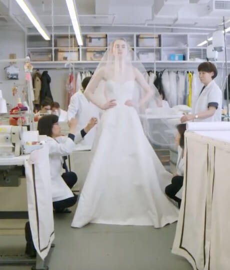 Inside the Atelier with the Spring 2019 Bridal Collection