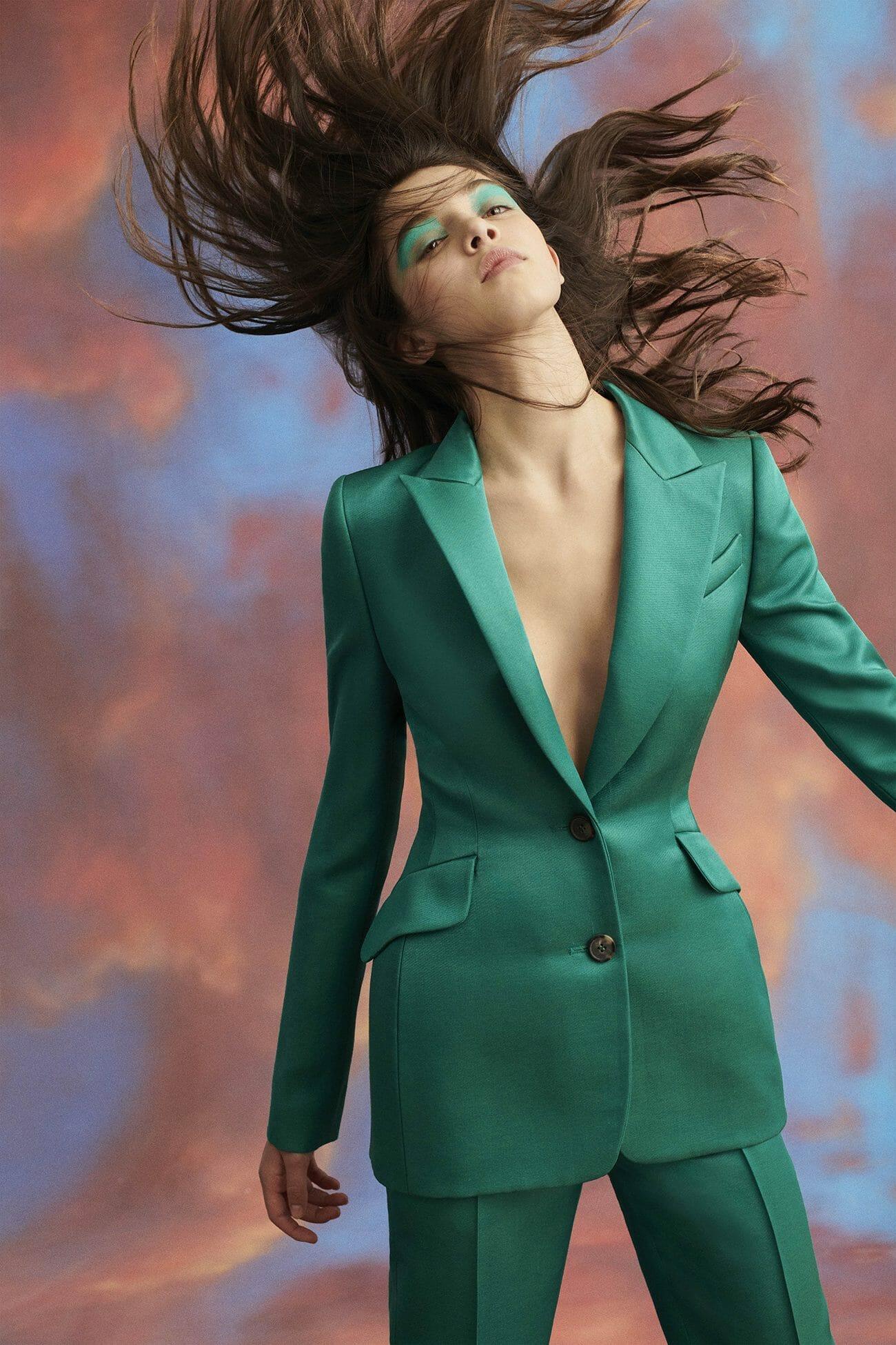 Carolina Herrera New York Ранняя осень 2019 - Образ 8