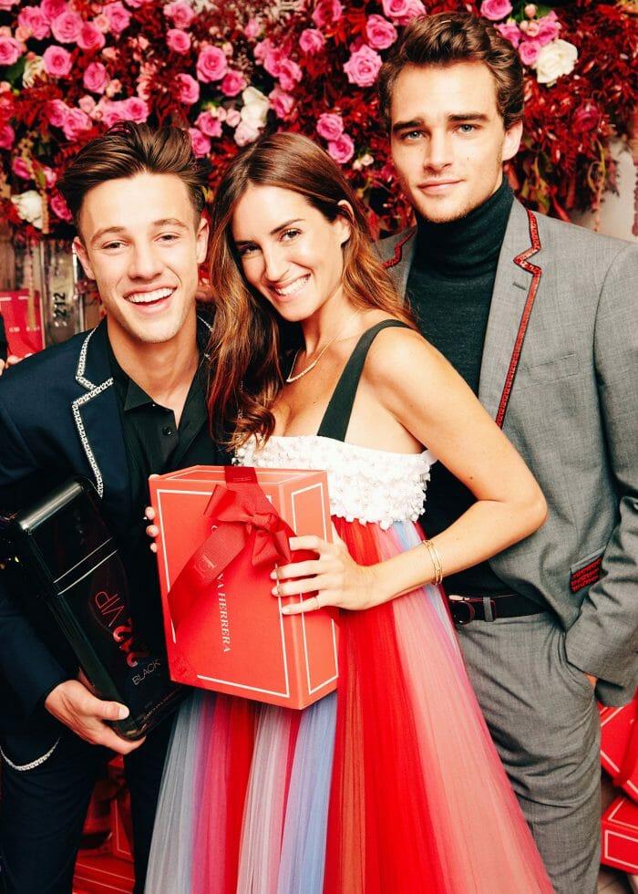Carolina-Herrera-New-York-ch-212-fragrances-gang-christmas-homepage-cameron-dallas-gala-gonzalez-pepe-barroso