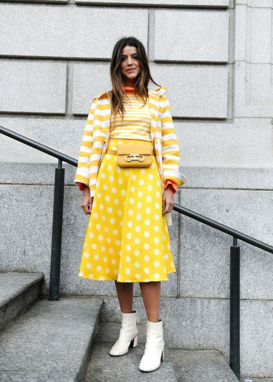 CH-Carolina-Herrera-Spring-2019-polka-dot-jacquard-skirt