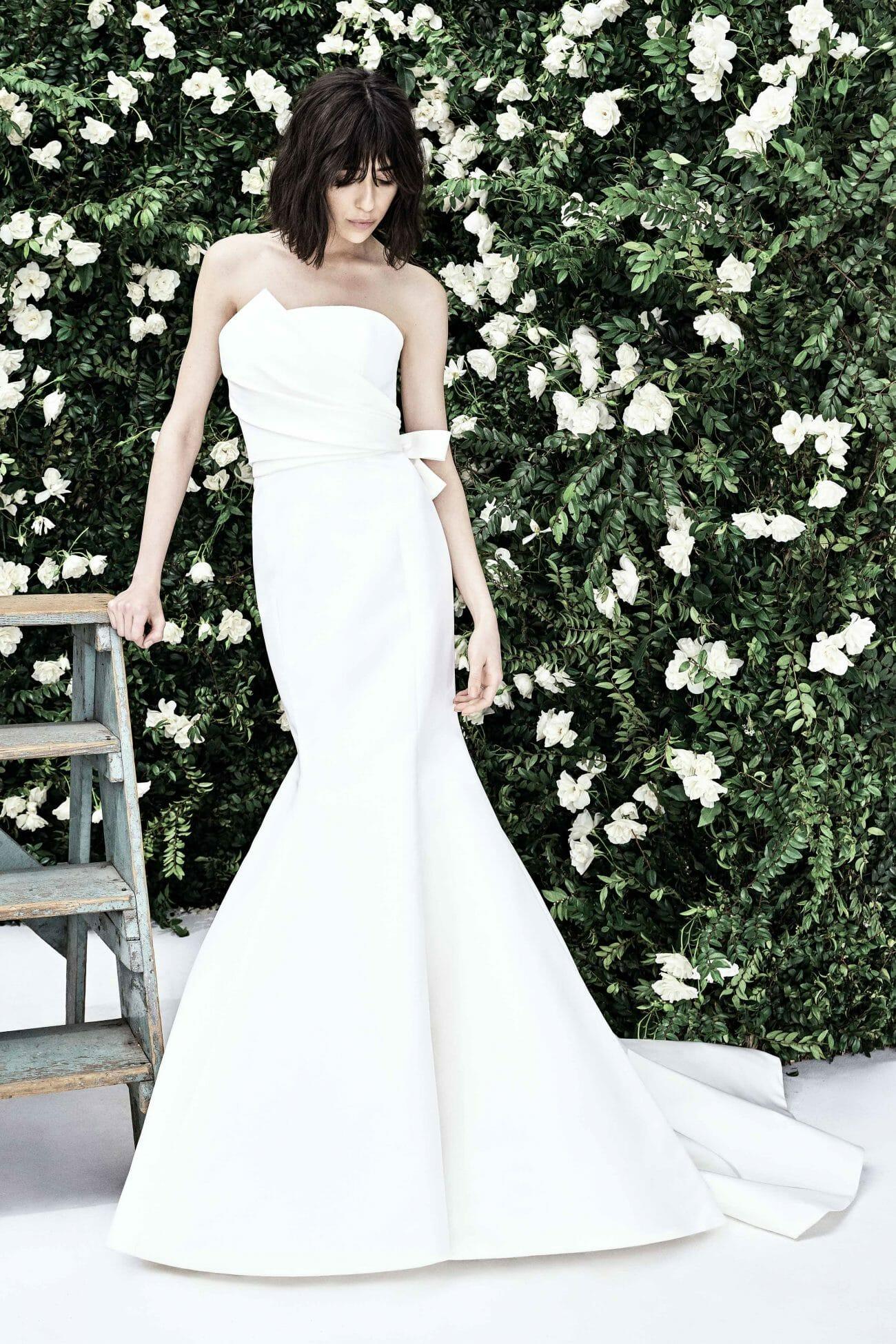 carolina herrera bridal gown spring 2020