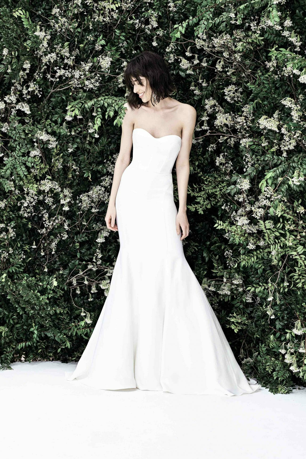 carolina herrera bridal gown spring 2020