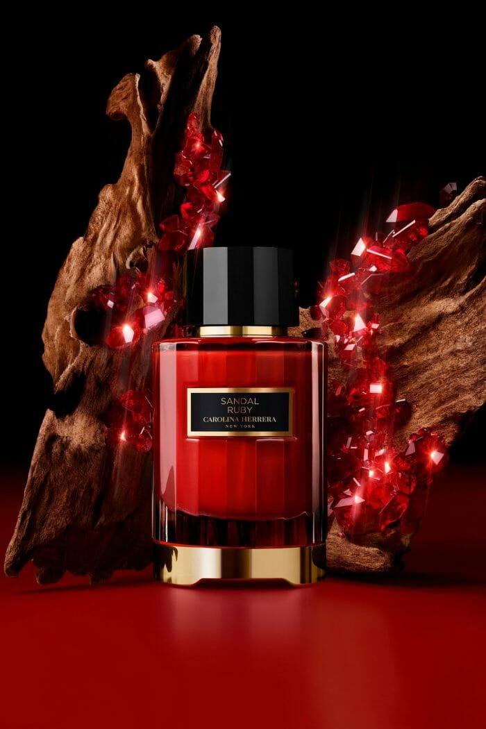 carolina herrera confidential sandal ruby eau de parfum
