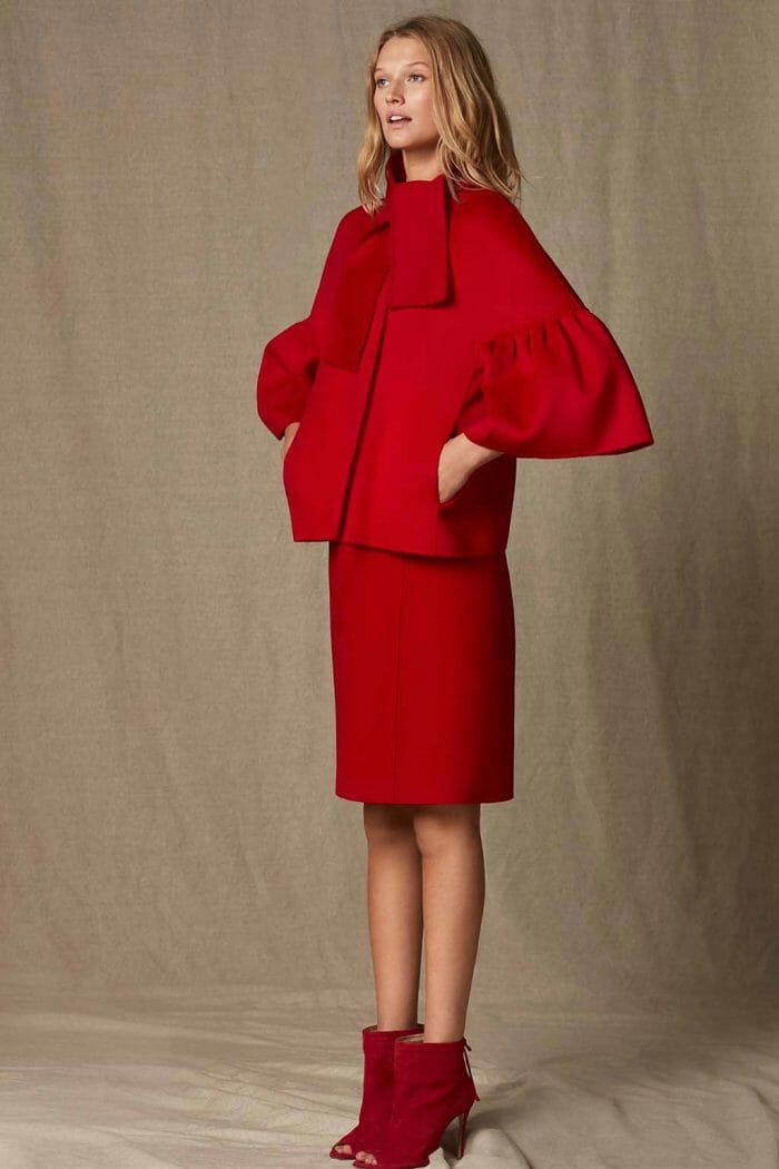 CH Carolina Herrera. New womenswear collection Falling for CH. Look 09