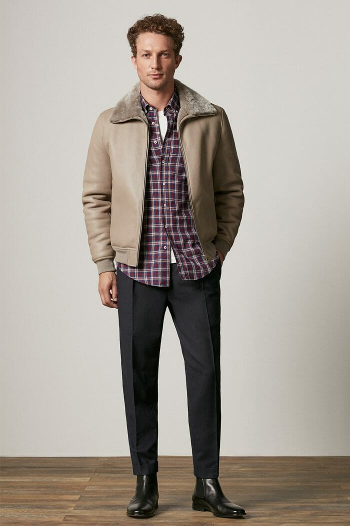 CH Carolina Herrera. New menswear collection Fall Lights. Look 13