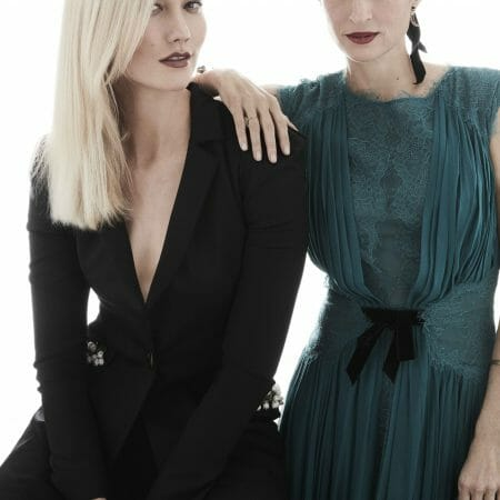 carolina herrera de baez kode with klossy karlie kloss