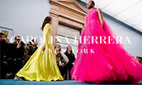 thumbnail carolina herrera new york fashion modenschau models auf dem laufsteg