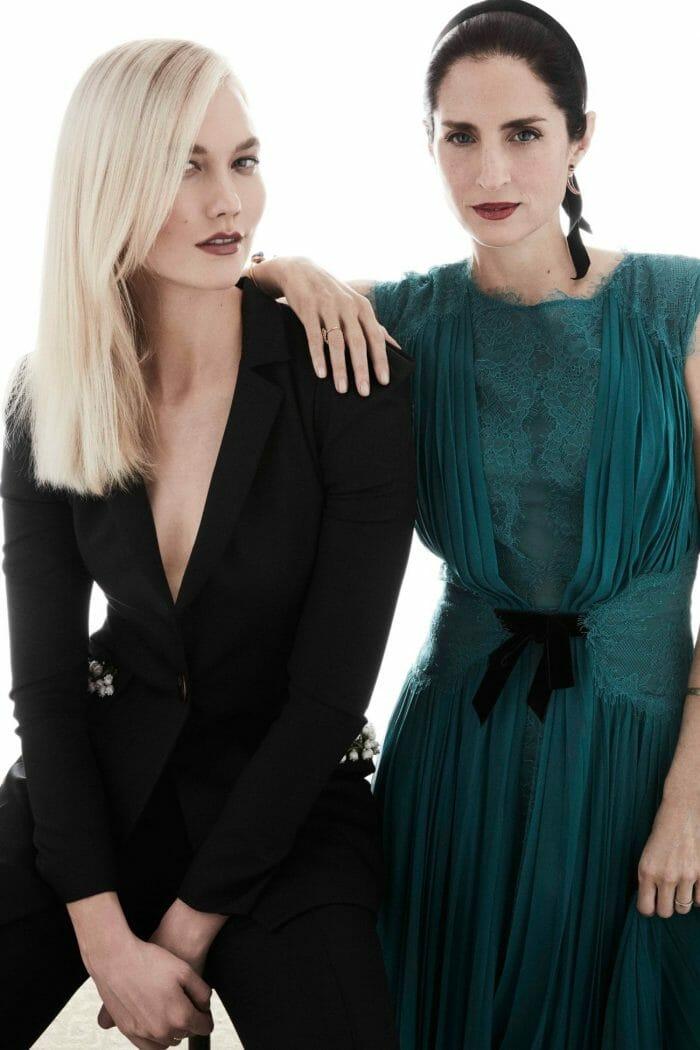 Karlie Kloss and Carolina Herrera de Baez together for kode with klossy