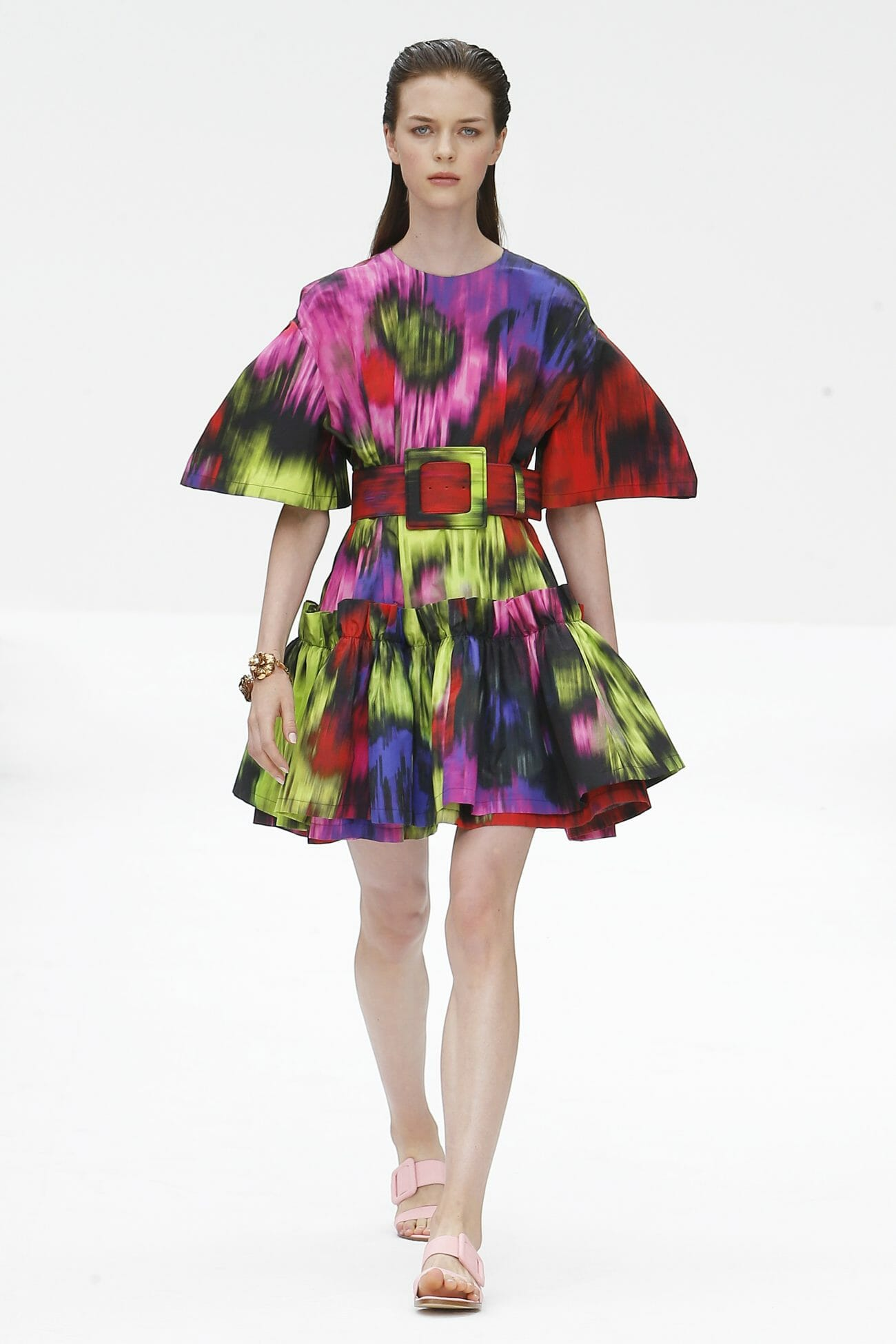 Carolina Herrera New York floral mini dress