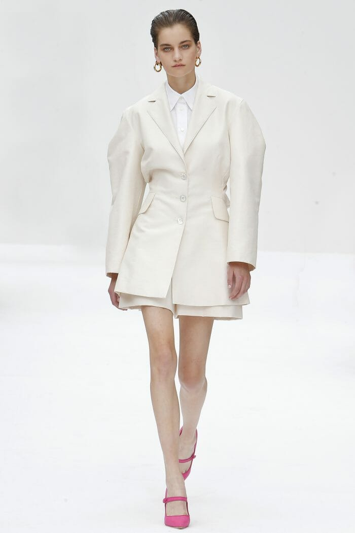 Carolina Herrera New York white look