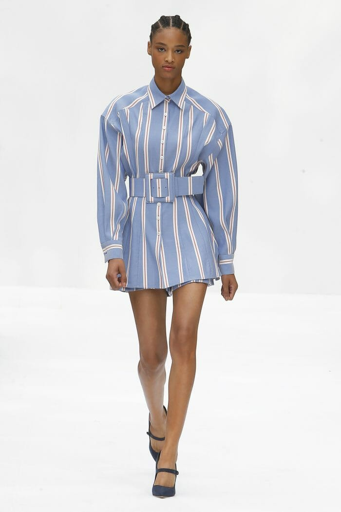 Carolina Herrera New York blue stripes