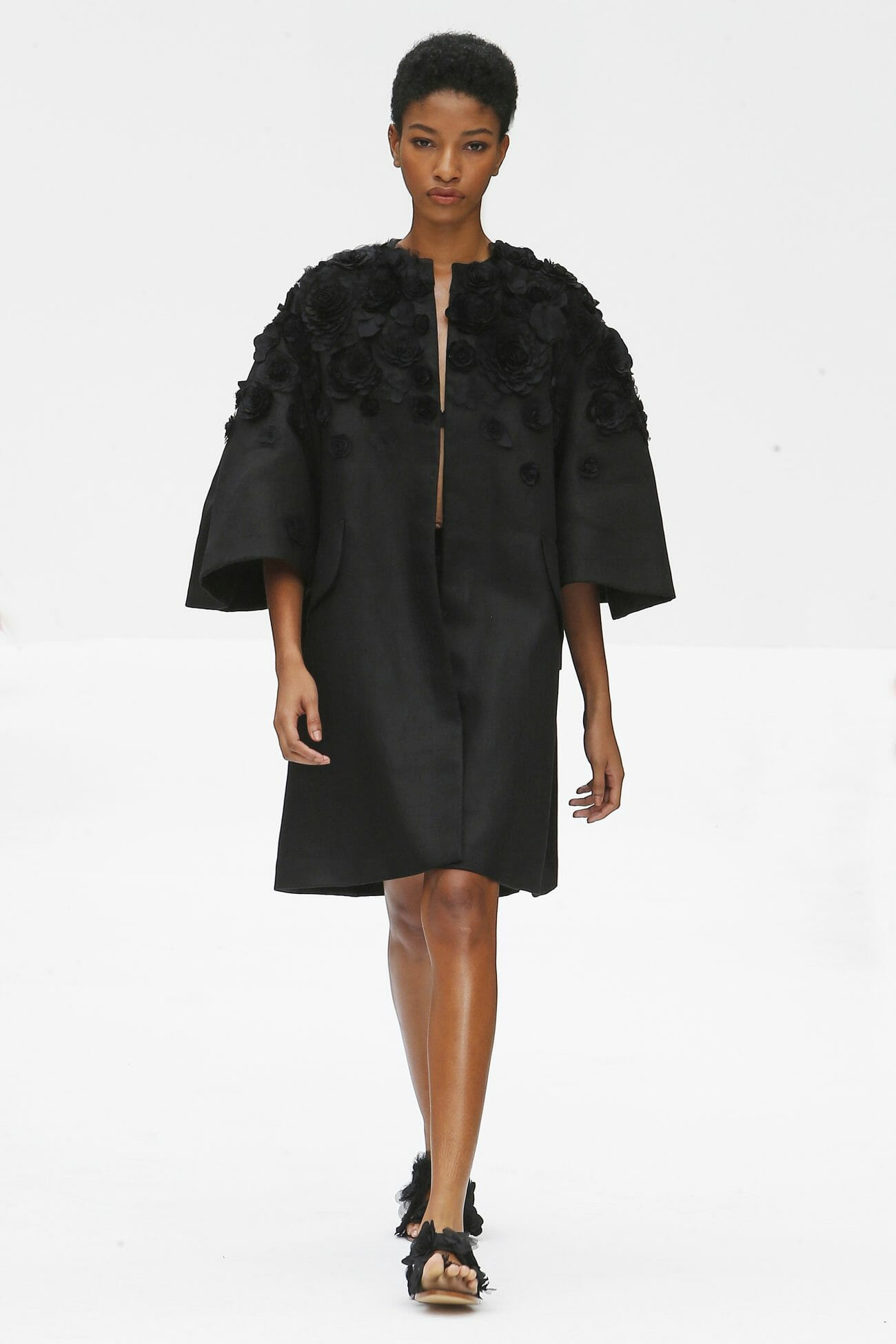 Carolina Herrera New York black dress