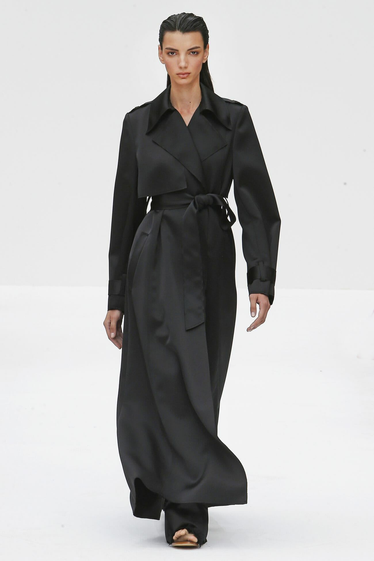 Carolina Herrera New York black trench coat