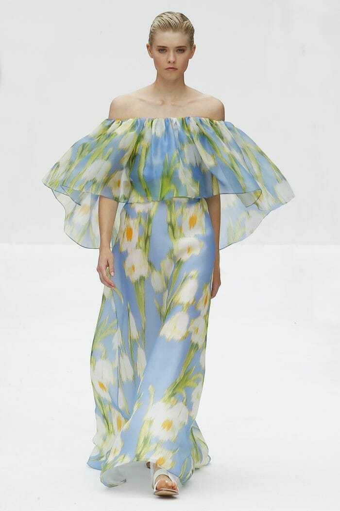 Carolina Herrera New York floral dress