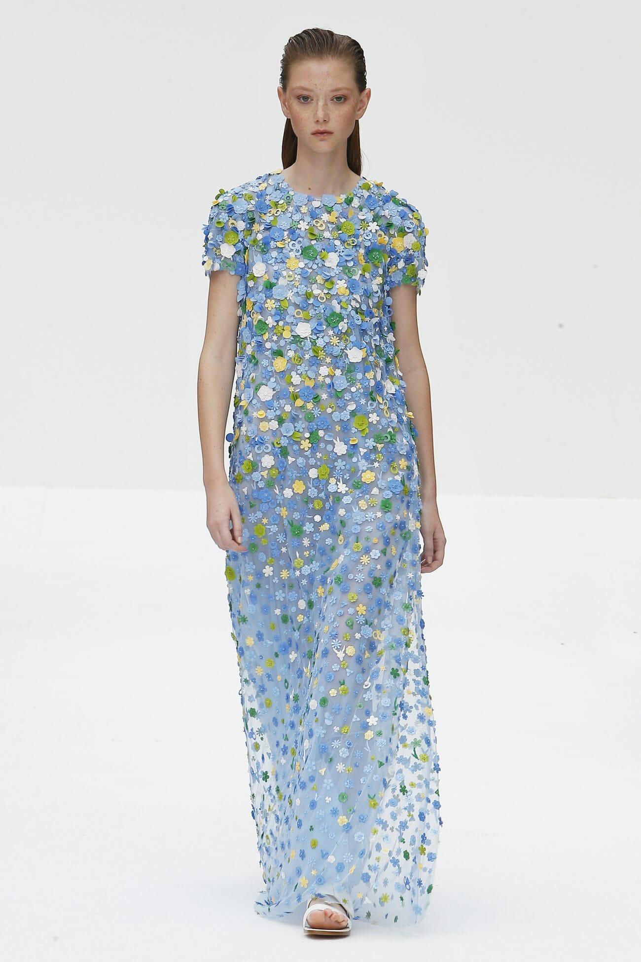 Carolina Herrera New York floral dress
