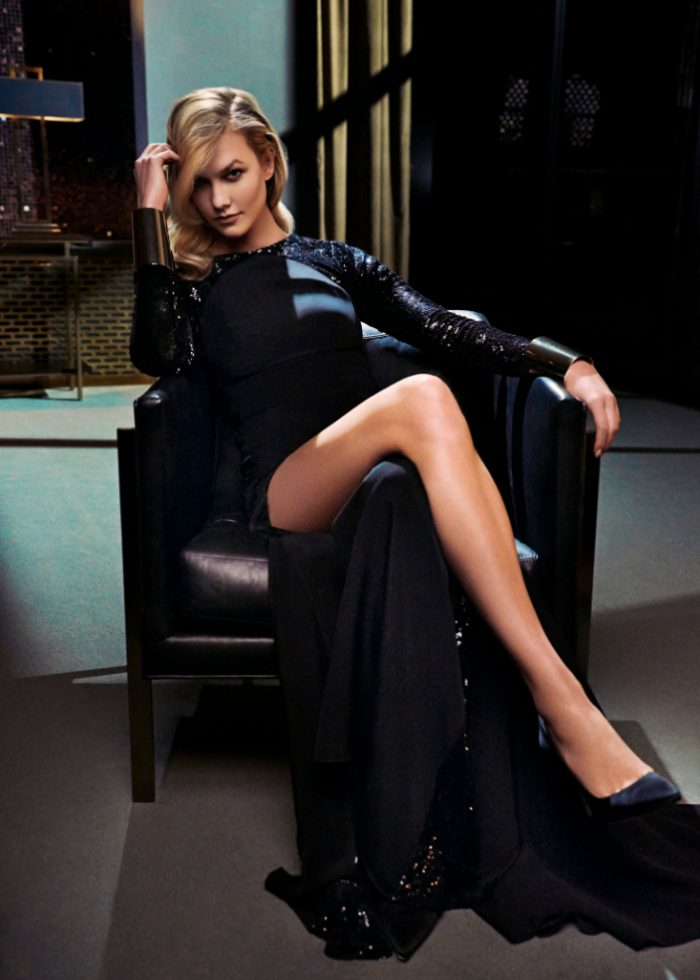carolina herrera new york karlie kloss chair