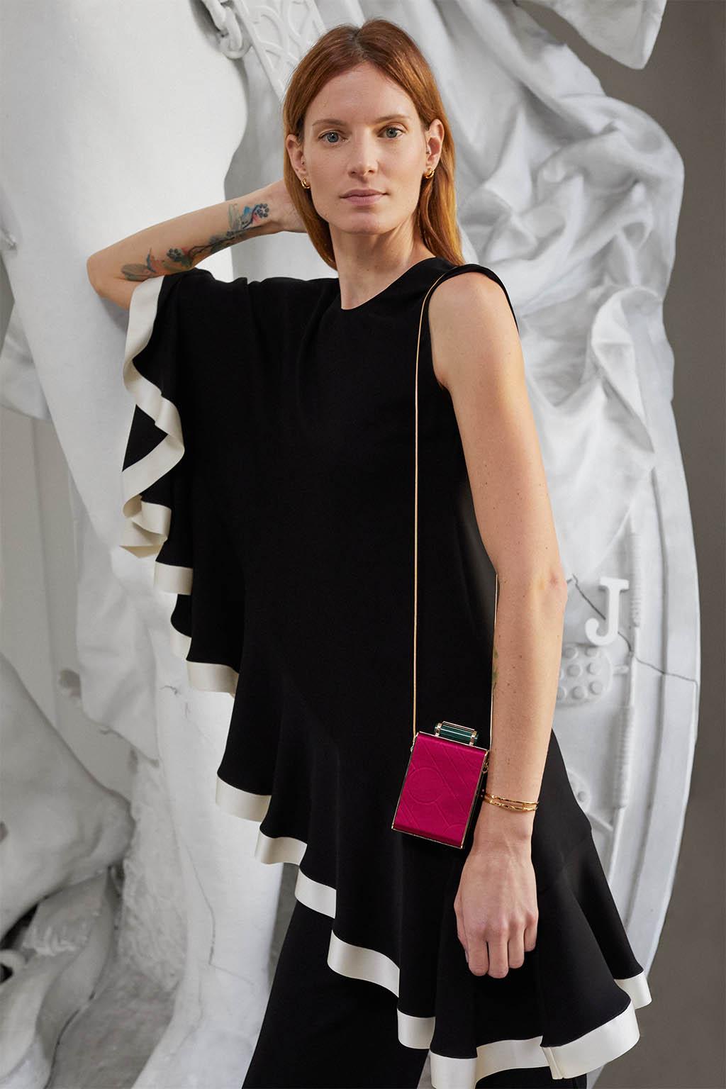 CH Carolina Herrera. New Womenswear Collection Evening. Look 05