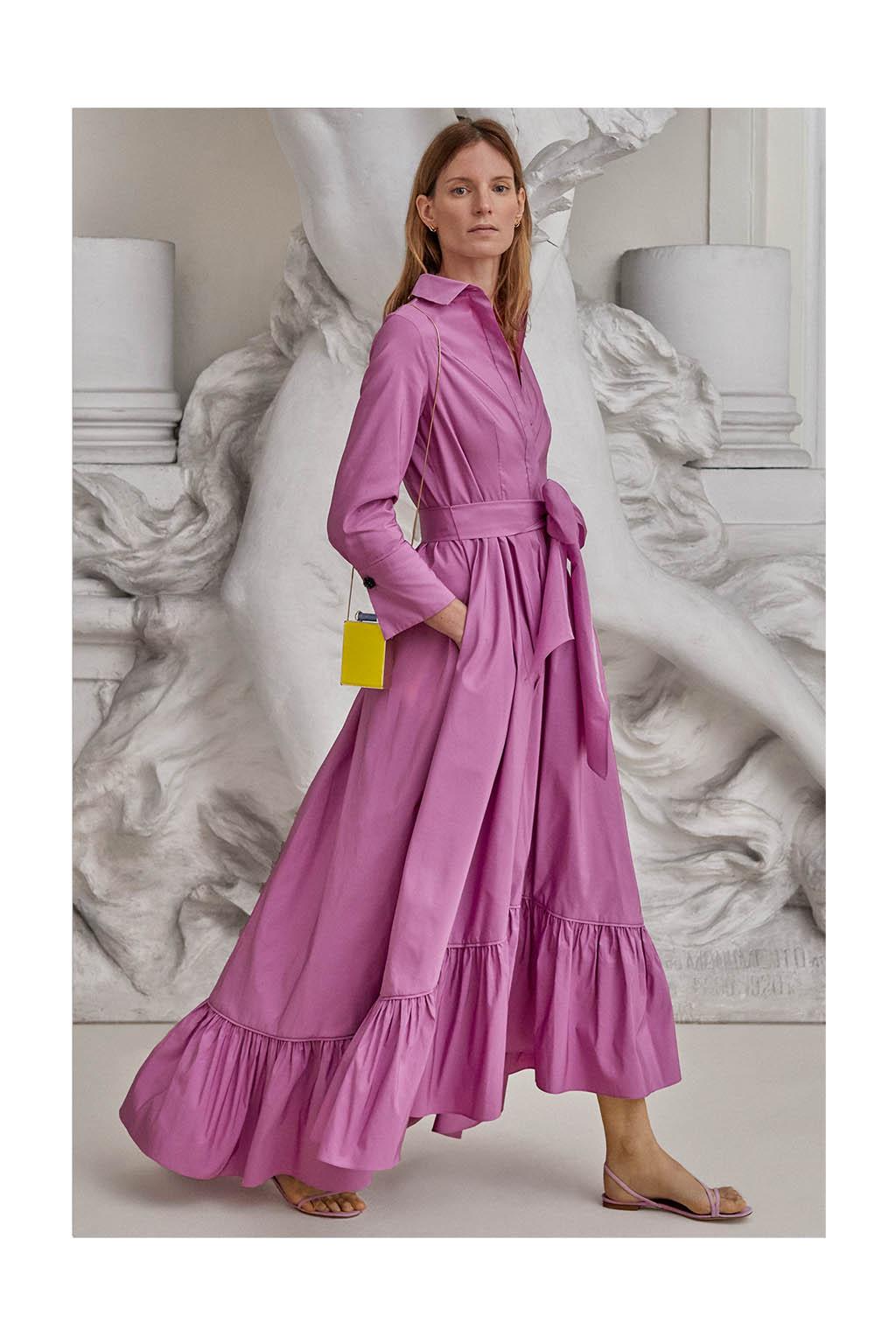 CH Carolina Herrera. New Womenswear Collection Evening. Look 06