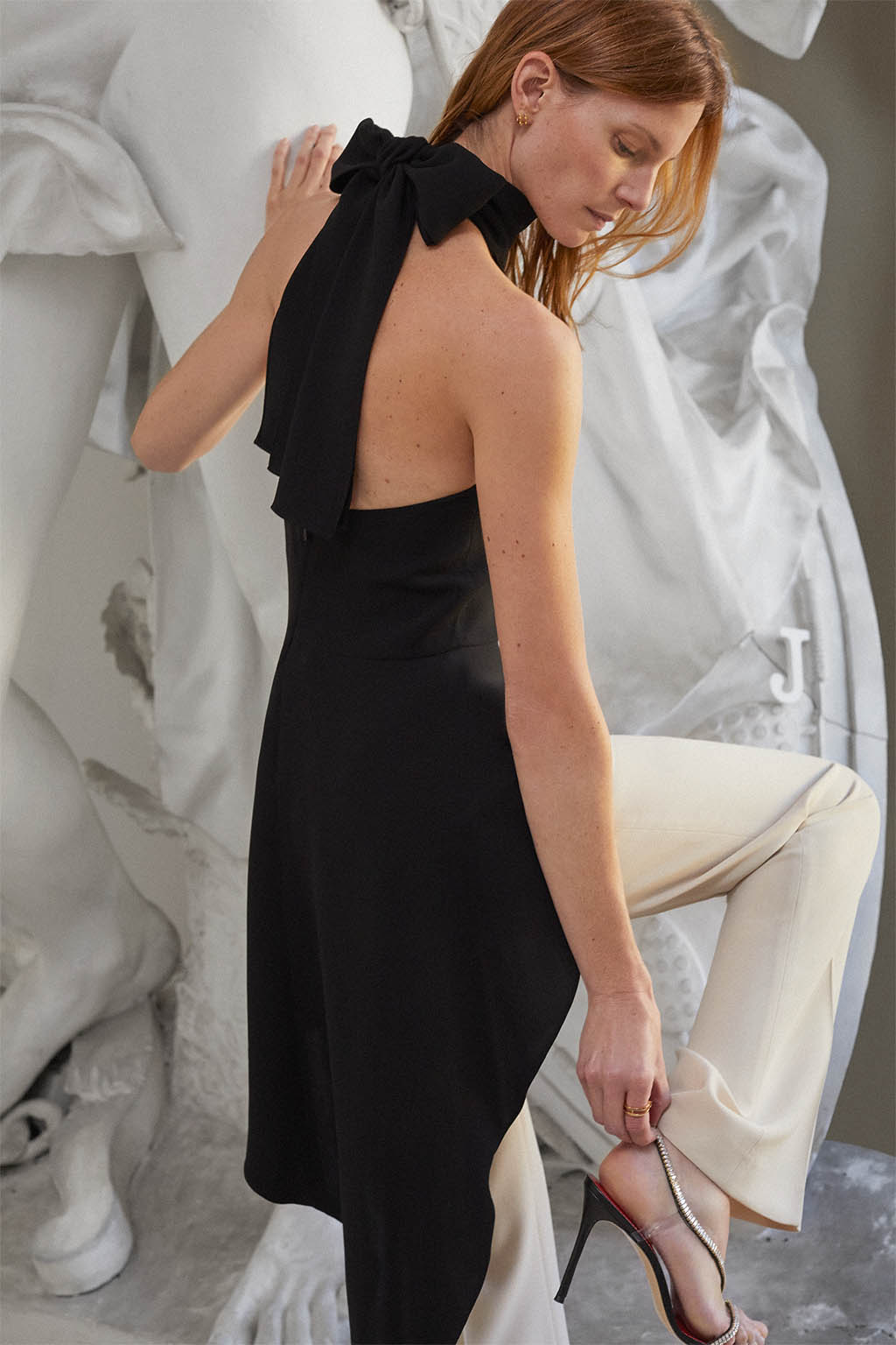 CH Carolina Herrera. New Womenswear Collection Evening. Look 07