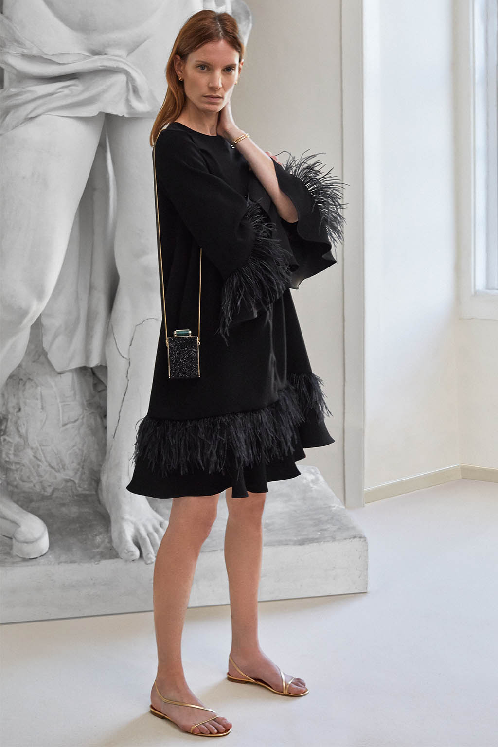 CH Carolina Herrera. New Womenswear Collection Evening. Look 08