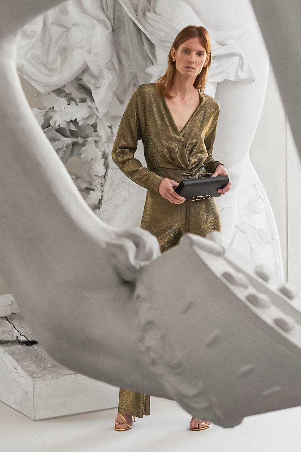 CH Carolina Herrera. New Womenswear Collection Evening. Look 16