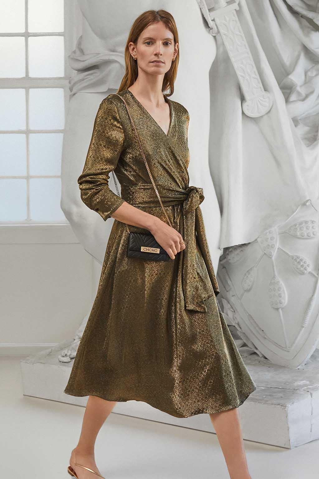 CH Carolina Herrera. New Womenswear Collection Evening. Look 17