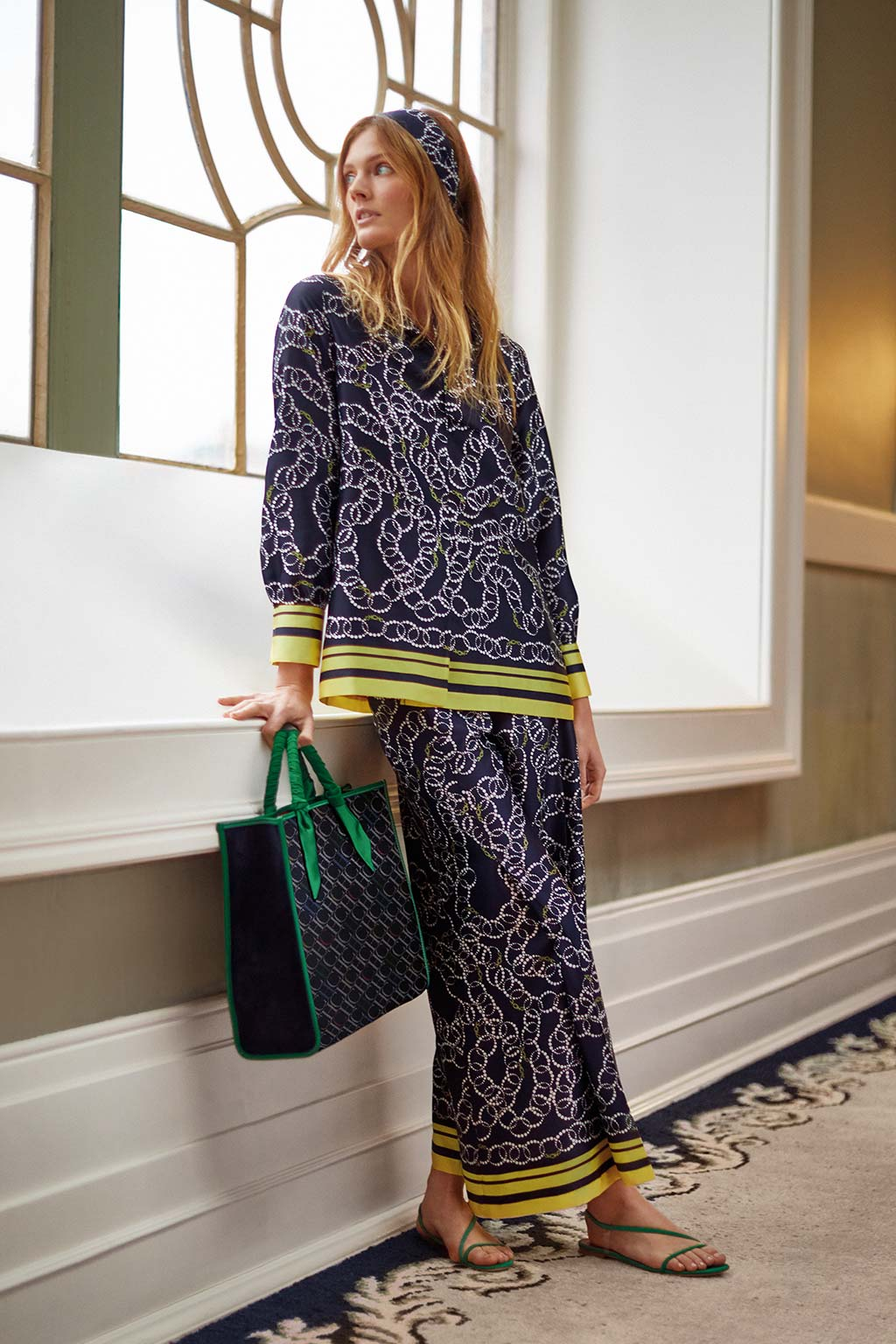 CH Carolina Herrera. New Womenswear collection Spring. Look 04