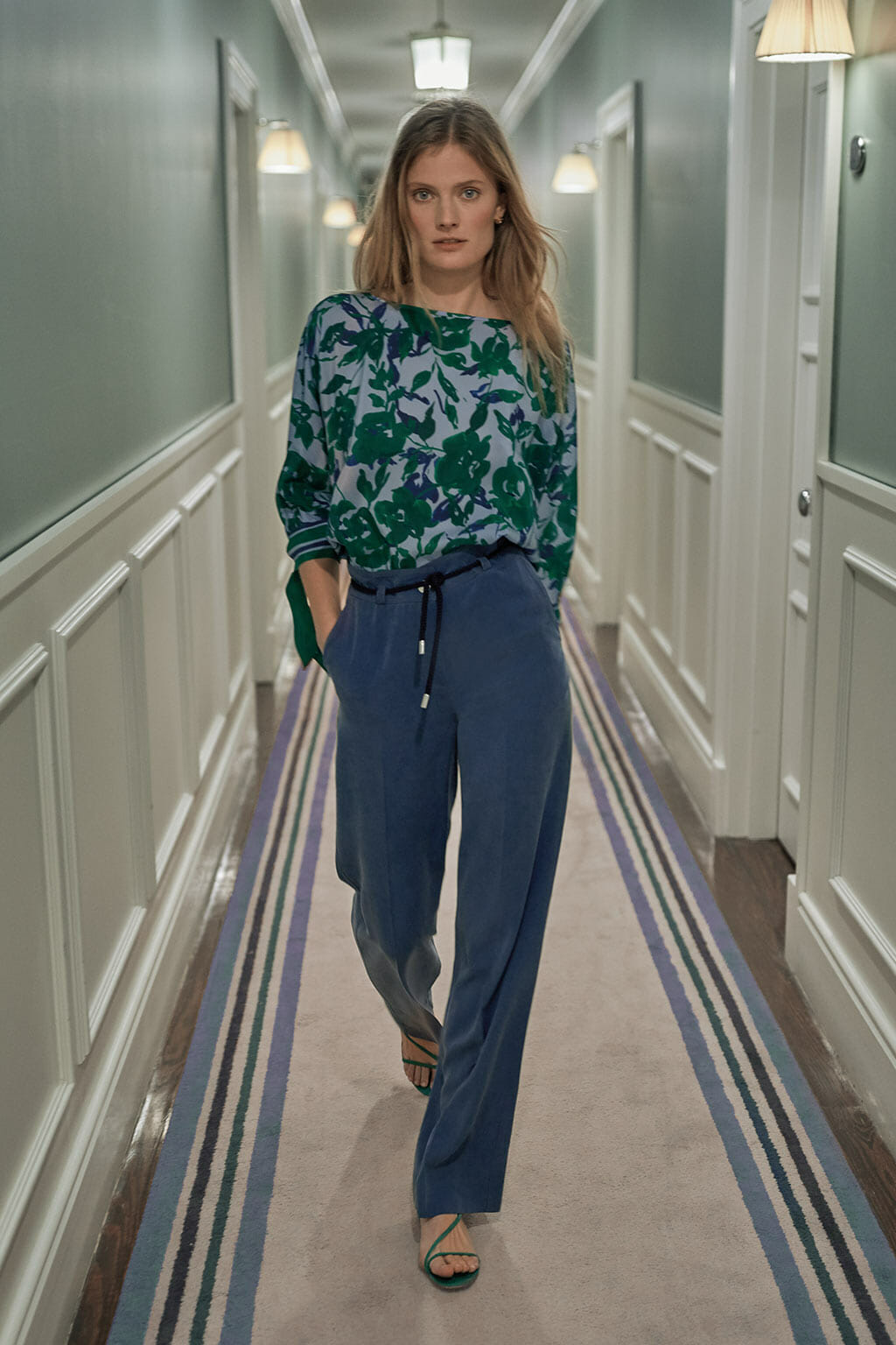 CH Carolina Herrera. New Womenswear collection Spring. Look 10