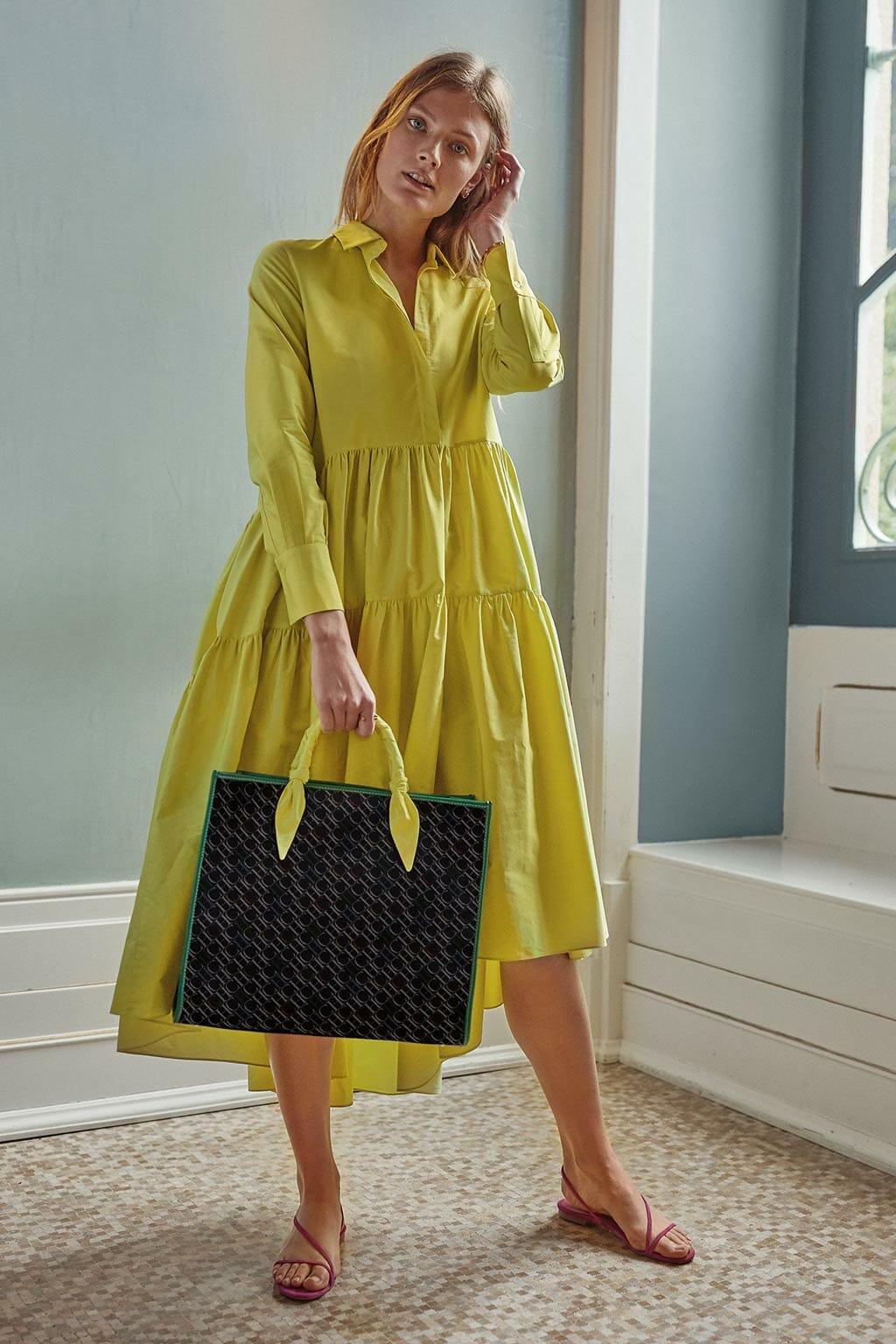 CH Carolina Herrera. New Womenswear collection Spring. Look 12