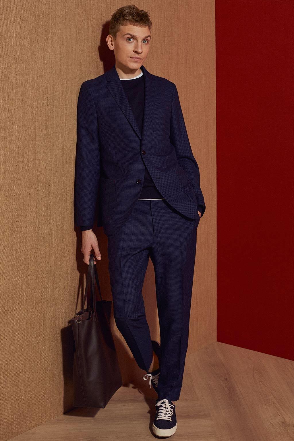 CH Carolina Herrera. New Menswear Collection Early Summer. Look 03